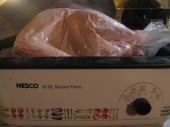 Turkey in roaster